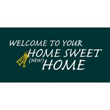 amazon com new home welcome home banner home sweet home