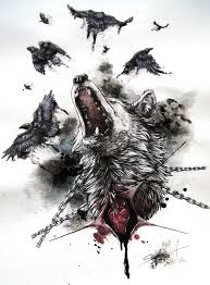 wolf indian tattoos designs we all have a beast inside the question is only in control