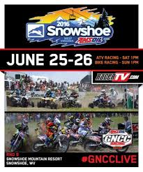 motocross races this weekend watch snowshoe gncc live on racertv com and nbcsn this weekend