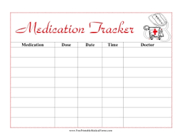 medication card template free printable medication list template world of letter format