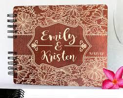 engravable photo album engraved wood album etsy