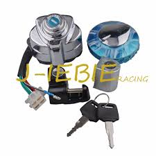 ignition switch set gas cap lock key for honda vt250 vt600 vt750
