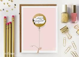 creative bridesmaid invitations creative delightful ideas on how to ask your to be your