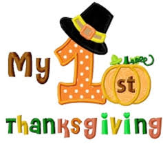 my 1st thanksgiving holidays