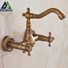 antique brass kitchen faucet antique wall mount kitchen faucets antique wall mount