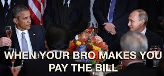 Obama Putin Meme - obama and putin cheers memes follow the farce report