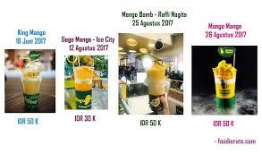 Mango Bomb serupa tapi tak sama inilah kembaran dari minuman kekinian hits