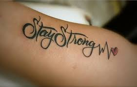 stay strong whatever life throws at you even if it hurts you just