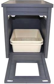 litter box end table new age pet litter loo litter box cover and end table espresso