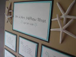 wedding invites beach this and that creations beach theme wedding seating board starfish