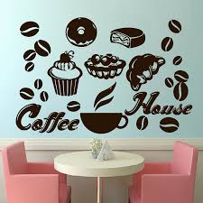 coffee house wall decals cafe decal vinyl stickers bedroom