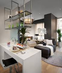 Small Apartment Interior Design Ideas Apartment Dazzling Small Apartments Living Room Kitchen With