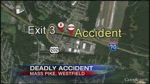 mass pike exits map killed after 3 vehicle on the mass pike