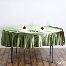 90 90 034 satin round tablecloths wedding party fundraiser