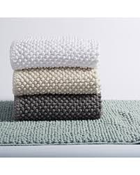 Cotton Bathroom Rugs Amazing Deal Coyuchi Pebbled Chenille Organic Cotton Bath Rug 24