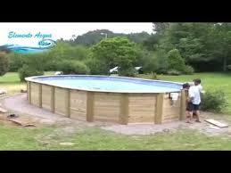 rivestimento in legno per piscine fuori terra montaggio piscina fuori terra in legno