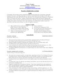 Sample Administrative Assistant Resumes Senior Administrative Assistant Resume Resume For Your Job