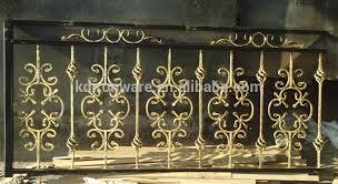 balustrade handrails type iron material ornamental wrought iron