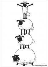 shaun sheep coloring birthday party