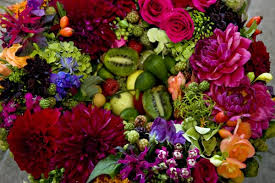 flowers and fruits designing with flowers fruits and vegetables françoise weeks