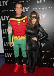batman costume halloween kourtney kardashian and scott disick as batman and robin batman