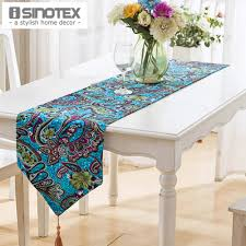 Dining Room Tablecloths Aliexpress Com Buy 1pcs Lot Linen U0026cotton Table Runner Flag