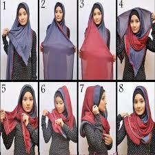 tutorial jilbab dua jilbab new tutorial jilbab gaul segi empat hijab tutorial