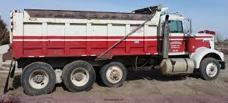 kenworth tandem dump truck 1977 kenworth tandem axle dump truck item b8877 sold fe