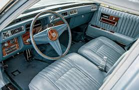 cadillac jeep interior collectible classic 1976 1979 cadillac seville