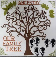 deluxe family tree die cut pack for scrapbooking ntvimage