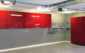 traditional off white grey painting garage walls garage