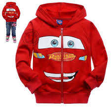 retail new cars character children hoodies toddler baby boys