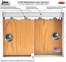 Door Hardware by Johnson Hardware 111sd Sliding Bypass Door Hardware