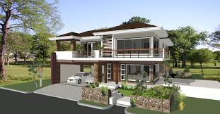 Great House Plans by British West Indies House Plans Print Elevation View Larger