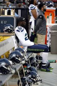 seahawks u0027 jeremy lane sits during national anthem in support of