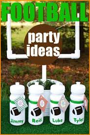 football party ideas football party favors snacks and fans