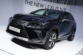 lexus new car new lexus nx facelift makes european debut at the frankfurt motor