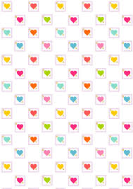 free printable heart pattern paper cutest birthday paper ever