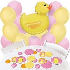duck decorations pink ducky duck baby shower decorations theme babyshowerstuff