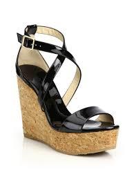 sandals metallic cork platform gold