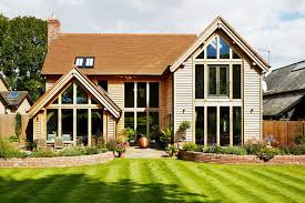 oak frames are often a quick and environmentally friendly way of
