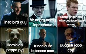 Villain Meme - dark knight dank city 19 lethally hilarious gotham villain memes