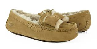 ugg slippers sale ansley ugg ansley twinface bow fully lined slippers noir color size 7 us