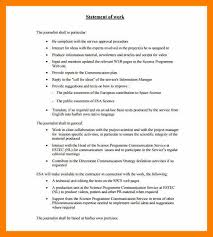Sample Janitor Resume by 7 Statement Of Work Samples Janitor Resume