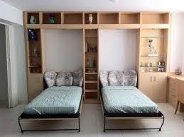 Murphy Bunk Beds Italian Murphy Bed With Compacting Sofa Expand - Folding bunk beds