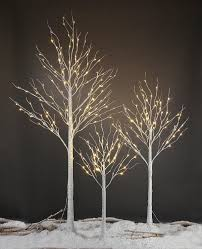 lightshare led birch tree 8 mini