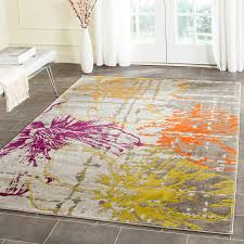 Area Rug Grey by Grey And Orange Area Rug Creative Rugs Decoration