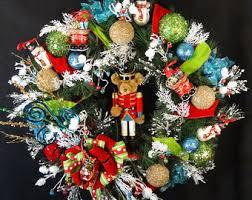 Large Nutcracker Christmas Decorations by Large Teddy Bear Etsy