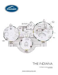 100 floor plans for round homes floor plan for a round