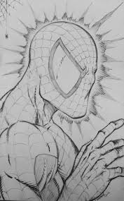 spiderman sketch by ram by robertmarzullo on deviantart